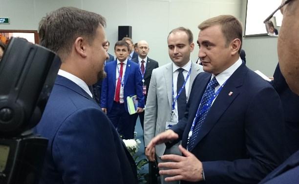 На Петербургском международном экономическом форуме высоко оценили инвестиционный климат в Тульской области