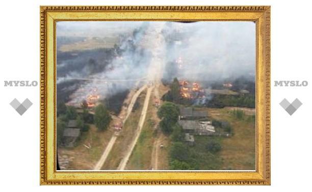 В борьбе с пожарами России помогли 12 стран