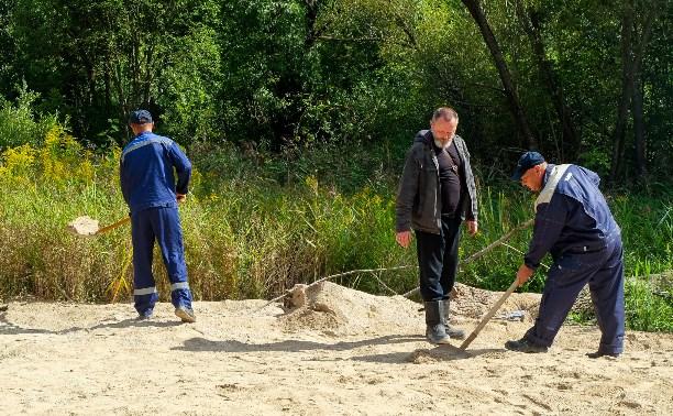 Экологическое ЧП в тульских Комарках: нефтепродукты продолжают вылезать наружу из-под доломита