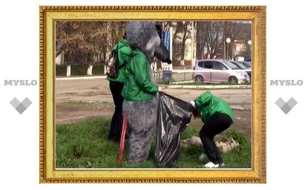 Молодежь Тулы покажет коммунальщикам крысу