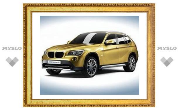 Опубликованы первые фотографии кроссовера BMW X1