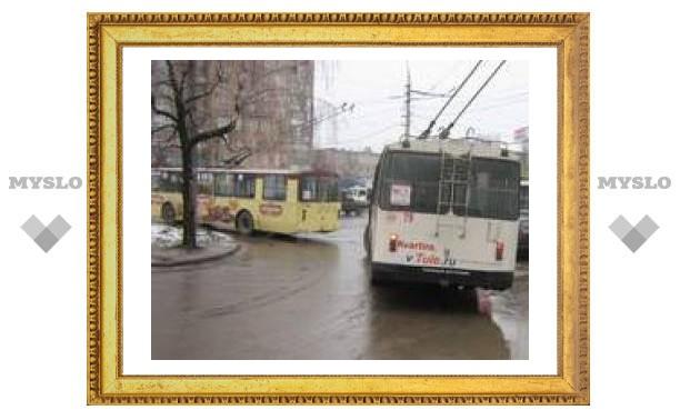 Сейчас в Туле движение на дорогах в норме