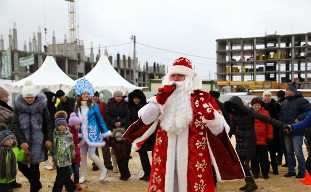 «Петровский Квартал» организовал новогодний праздник для туляков