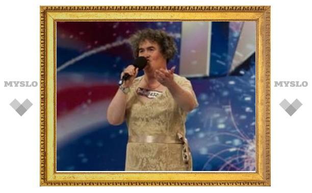 Сьюзан Бойл приступила к записи дебютного альбома