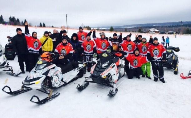 Команда снегоходчиков «Тульские медведи» стала лучшей в стране