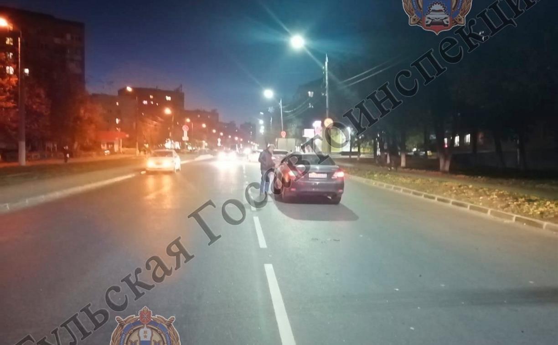 В Туле на ул. Металлургов автомобиль Toyota сбил 15-летнего парня