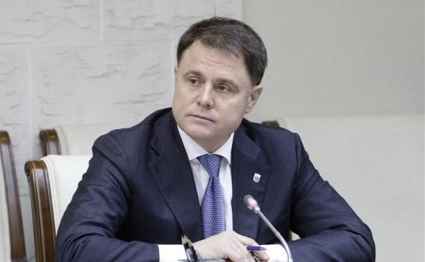 Владимир Груздев провёл личный приём жителей Тульской области
