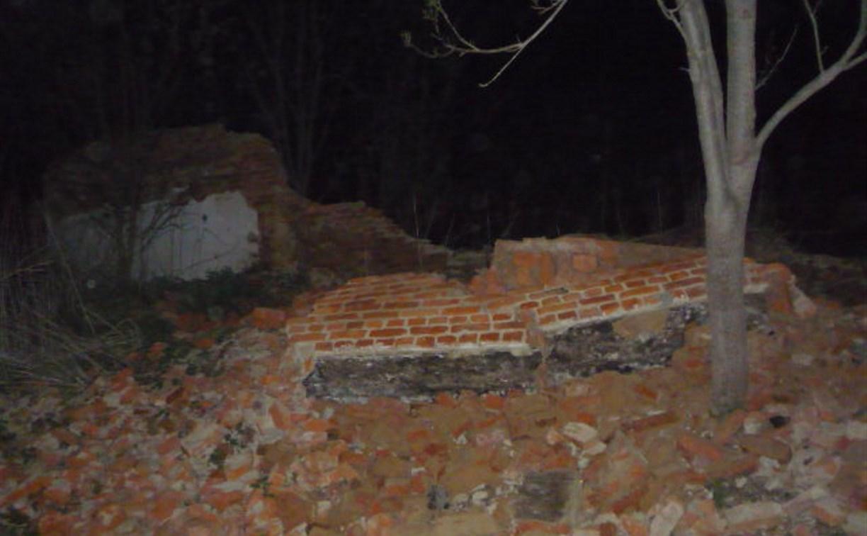 В Тульской области 12-летний мальчик погиб при обрушении стены заброшенного дома