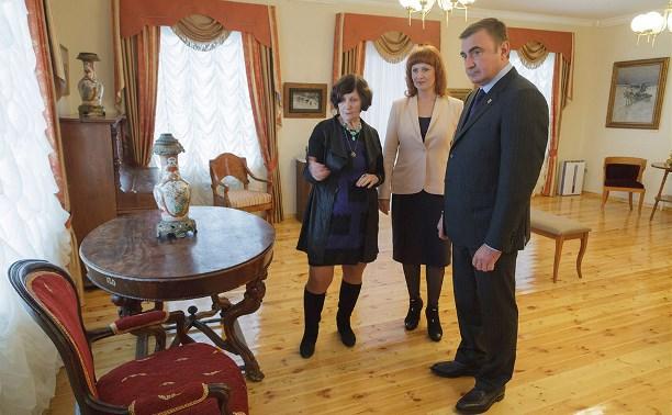 Алексей Дюмин посетил музей-заповедник «Бежин луг»
