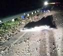 В Тульской области мотоцикл врезался в ограждение: водитель погиб
