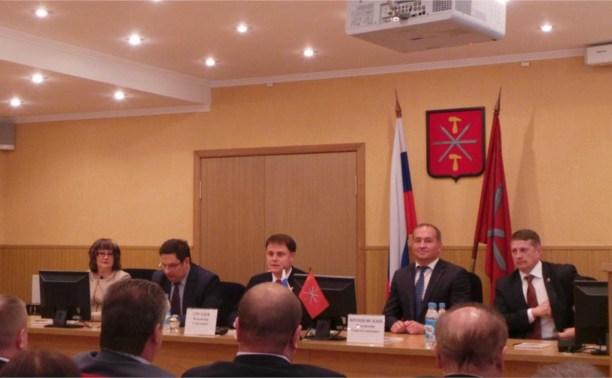 Владимир Груздев поздравил новых депутатов Тульской городской Думы