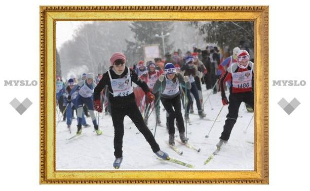 В Туле определили самых быстрых лыжников