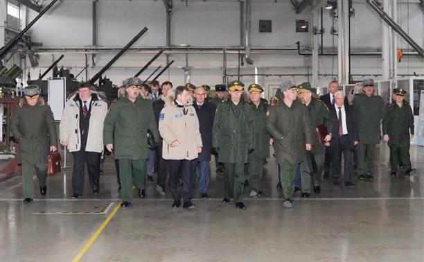 Начальник Генштаба ВС России Валерий Герасимов посетил тульское КБП