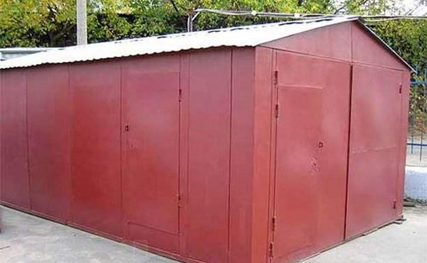 Житель Узловского района воровал металлические гаражи