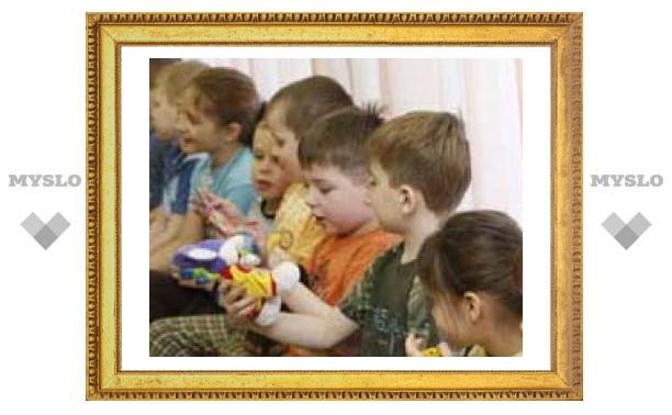 Тульские ОМОНовцы подарили детям подарки
