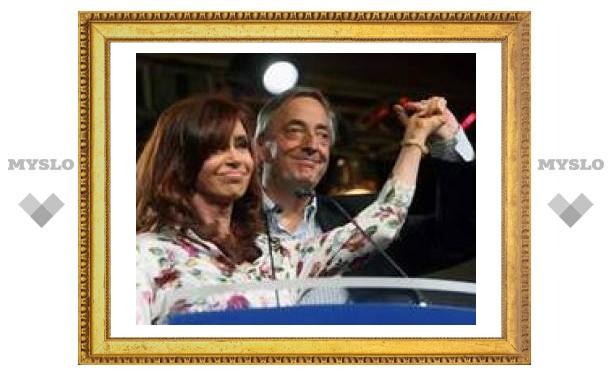 Первая леди Аргентины объявила о своей победе на выборах