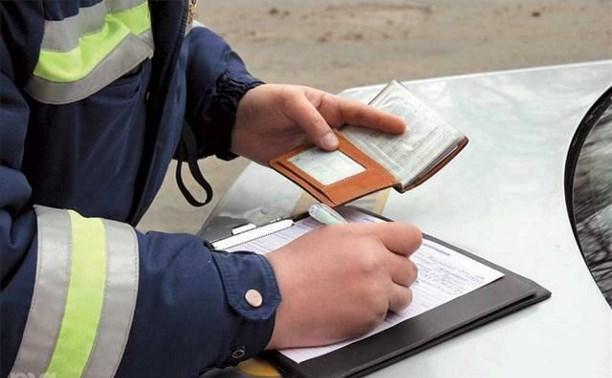МВД предлагает штрафовать на пять тысяч рублей за опасное вождение