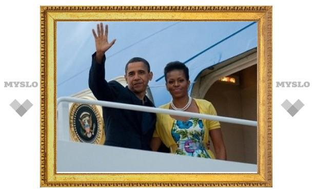 Барак Обама вылетел в Москву