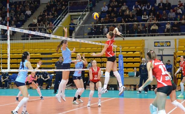 Тульские волейболистки стали седьмыми на финале первенства России