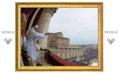 Папа Римский поздравил католический мир с Пасхой Христовой