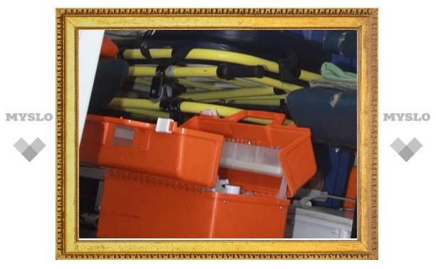 В Тульской области пассажир маршрутки скончался после падения со ступенек
