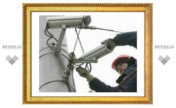 На тульских дорогах установят видеокамеры