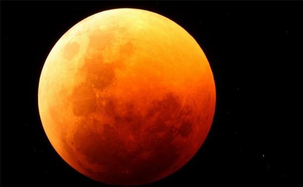 В ночь на 28 сентября туляки смогут увидеть затмение кровавой суперлуны