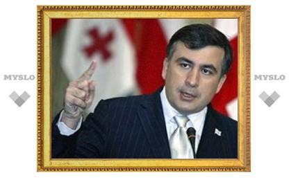Михаил Саакашвили подписал документ о прекращении огня