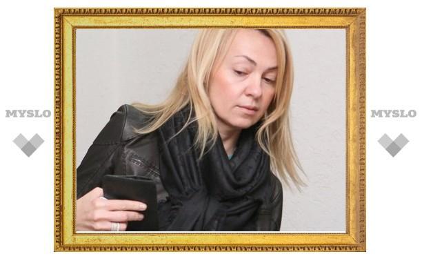 Яна Рудковская осталась недовольна тульскими дорогами
