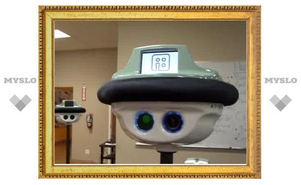 В США выпустили подвижного робота для видеосвязи