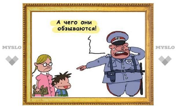 Оскорбление инспектора ДПС обошлось туляку в 30 тысяч рублей
