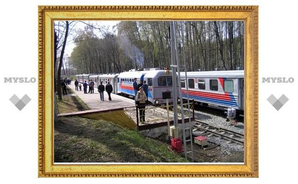 Детская железная дорога привезет пассажиров на День города