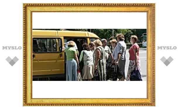 Гастарбайтерам в Туле запретят водить маршрутки?