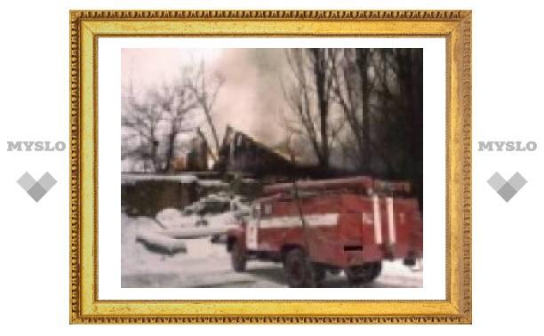 Под Тулой сгорел мужчина