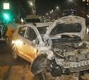 В центре Тулы два таксиста не поделили дорогу: пострадала пассажирка