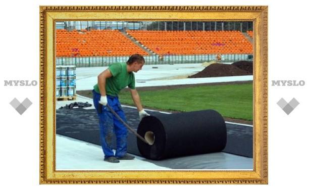 В июле в Новомосковске появится футбольное поле с подогревом