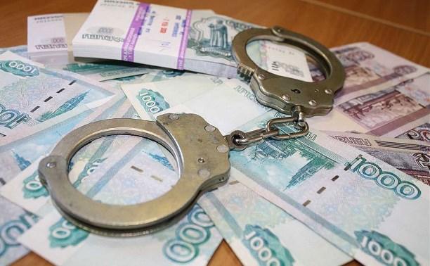 В Тульской области снизилось число возбужденных уголовных дел по фактам получения и дачи взяток