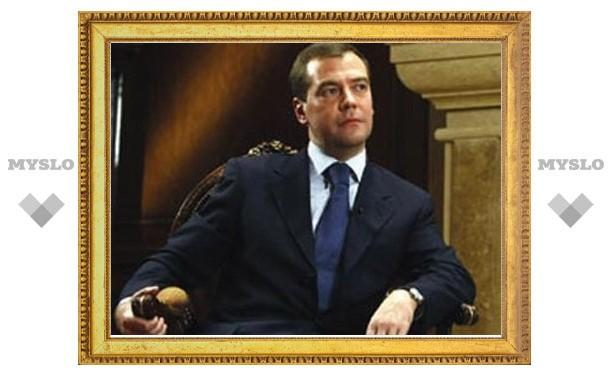 Медведев заявил, что борьба с коррупцией будет долгой