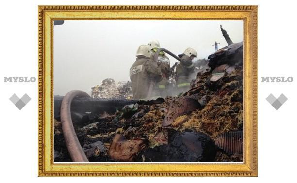 В Туле спустя двое суток нашли тело погибшего при пожаре