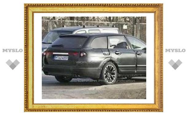 Появились первые шпионские фотографии нового универсала BMW 5 серии