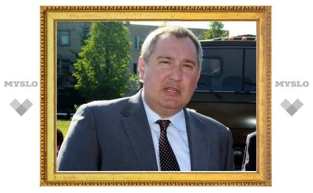 Дмитрий Рогозин поздравил тульских оружейников с праздником