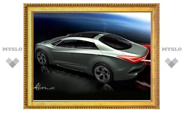 Hyundai привезет в Женеву прототип нового седана