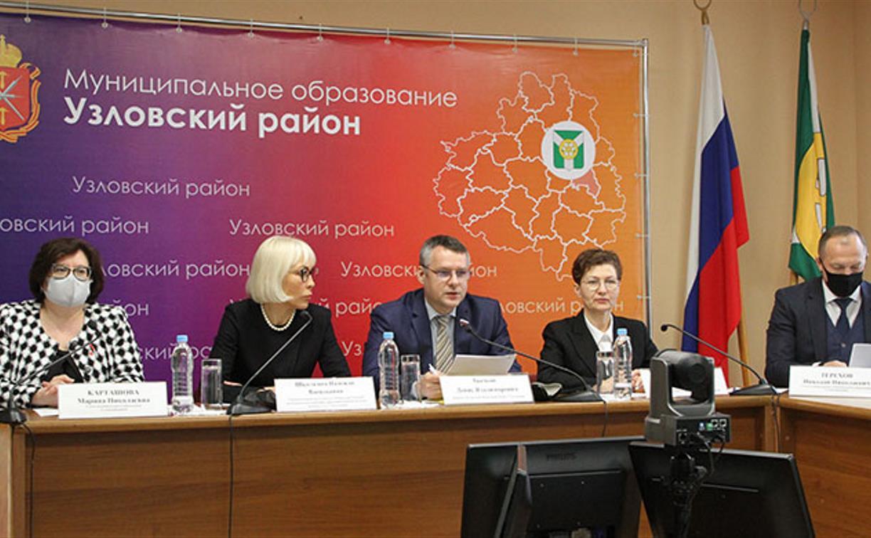 В Узловой депутаты Тульской областной Думы встретились с местными активистами