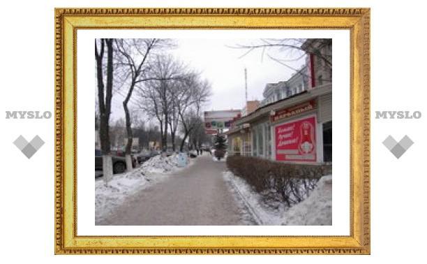В Туле объявили войну уличной рекламе