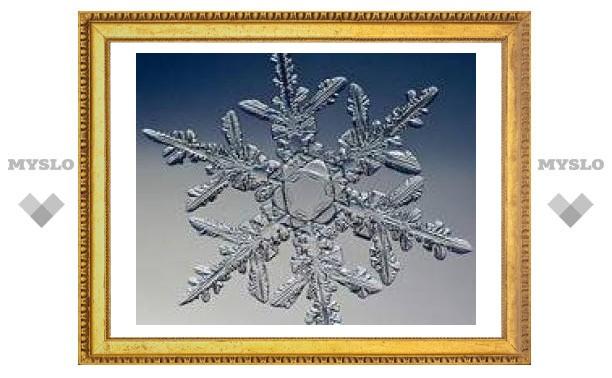 И все-таки одинаковых снежинок в природе нет