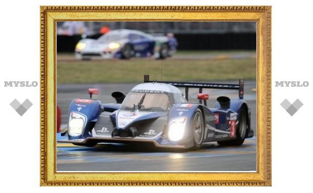 Машины Peugeot заняли два первых ряда на старте гонки в Ле-Мане