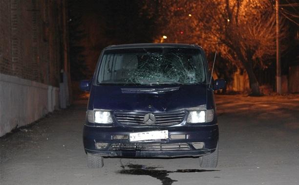 За рулем микроавтобуса-убийцы находилась женщина