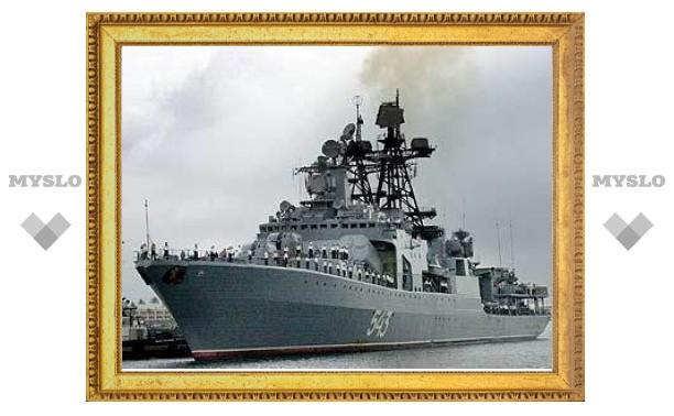 В России построят корабль для борьбы с пиратами