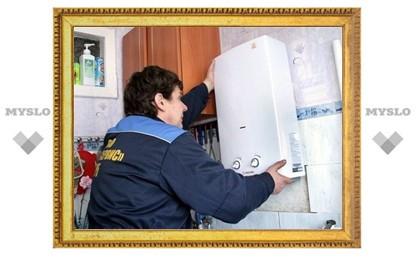 В Туле 80 квартир остались без газа