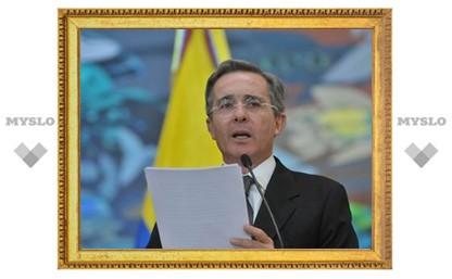 """Президент Колумбии заболел """"свиным"""" гриппом"""